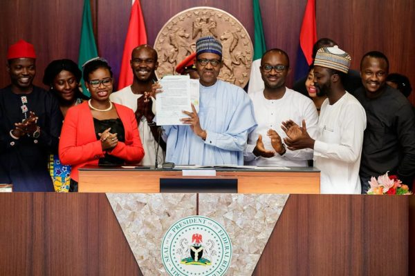"Buhari reveals Age Limit of Senators & Governors not reduced with ""Not Too Young to Run"" Bill 
