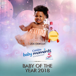 Zoe Ekwegh Cussons Baby Moments Competition Winner