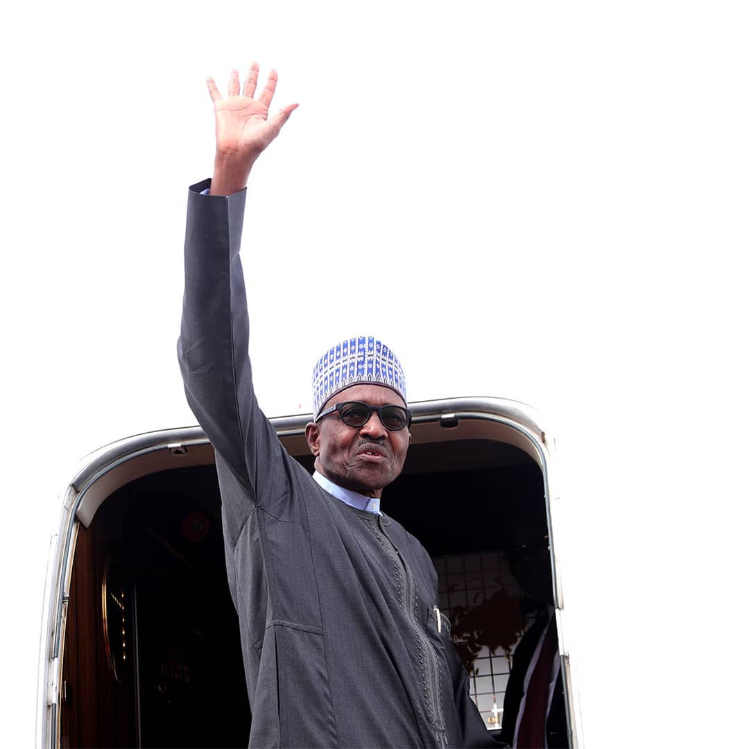 President Buhari Departs Abuja for Medical Trip to London