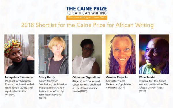 3 Nigerians make 2018 Caine Prize Shortlist | BellaNaija
