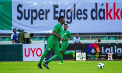 Super Eagles continue World Cup warm up with 2-3 defeat againt Spanish club Atletico Madrid