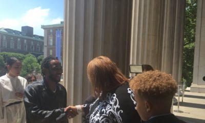 Kendrick Lamar attends the Pulitzer Prize Luncheon