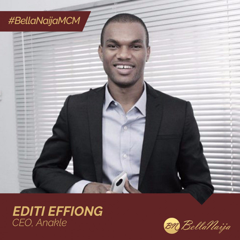Tech Entrepreneur & Digital Marketing Guru Editi Effiong of Anakle is our #BellaNaijaMCM this Week