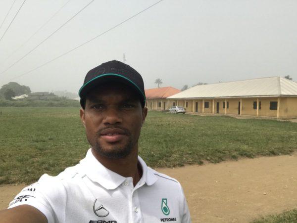 Full Circle! Editi Effiong returns to Primary School to build Computer Lab | BellaNaija