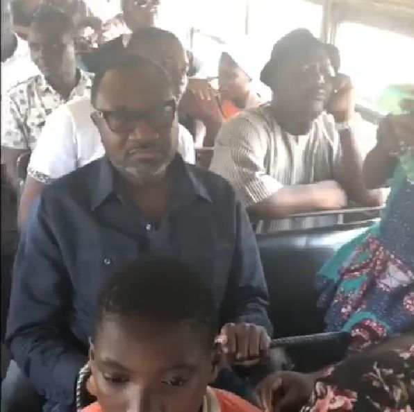 Femi Otedola takes Molue ride from Sango to Agege | BellaNaija