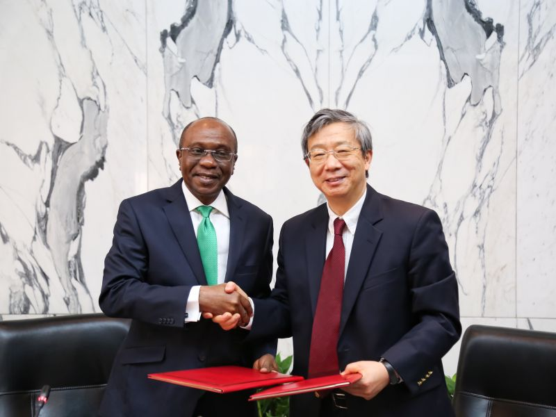 CBN Seals $2.5bn Currency Swap With China's Central Bank