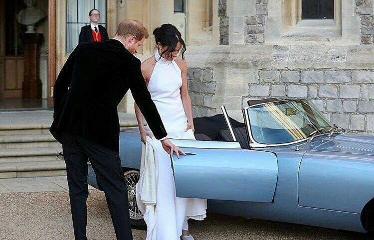 First Look at Meghan Markle and Prince Harry 's Reception Ceremony #RoyalWedding - Image ~ Naijabang