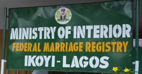 Court bars Ikoyi Registry from conducting Marriages | BellaNaija