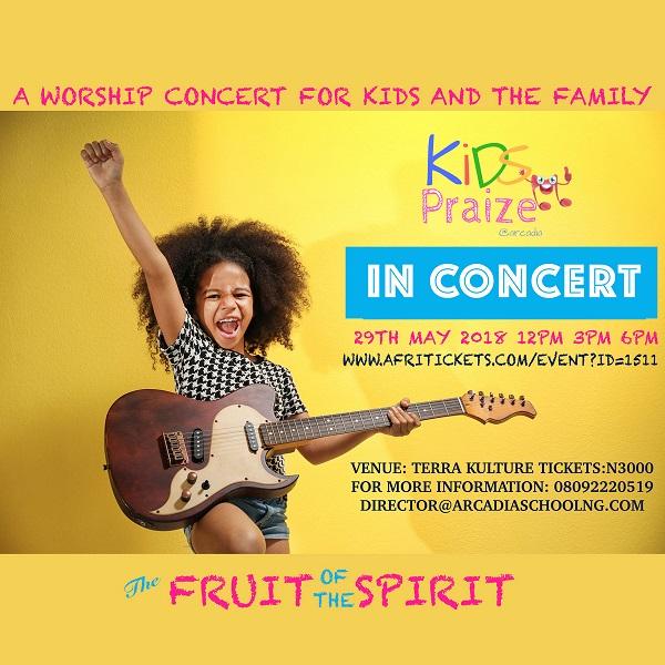 Kids Praize Fruit of the Spirit Concert