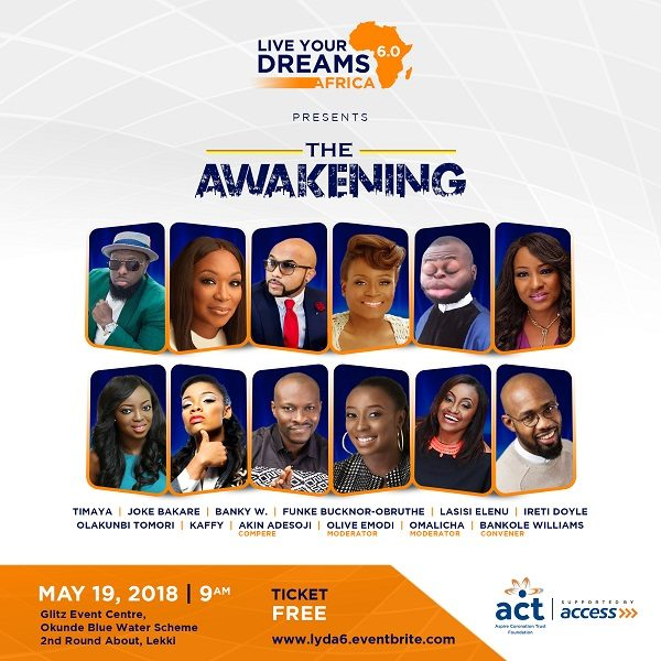 Live Your Dreams Africa Conference 2018