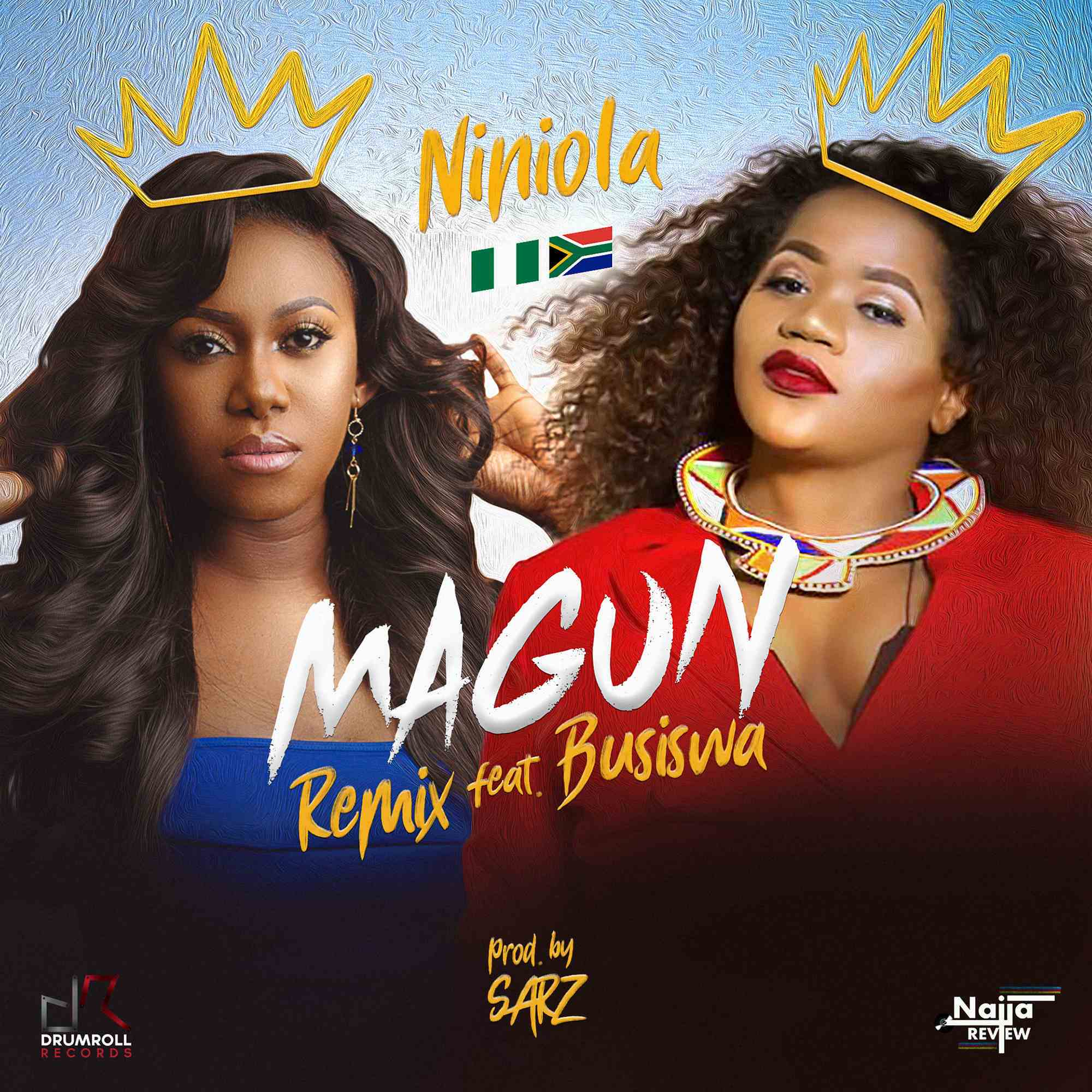 "Niniola features South Africa's Busiswa on Remix for ""Magun"" 