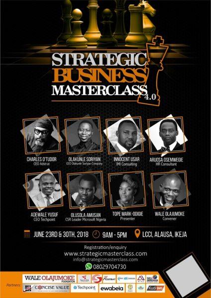 Strategic Business Masterclass