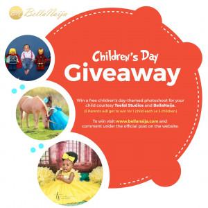 The BellaNaija Living & Teefal Studios Children's Day Giveaway! 👶🏾