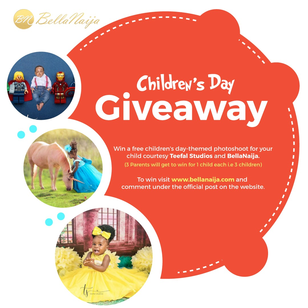 The BellaNaija Living & Teefal Studios Children's Day Giveaway! 👶🏾