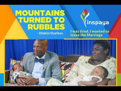 """Mountains turned to Rubbles"" - The Oyefesos share their testimony in new episode of Inspaya 