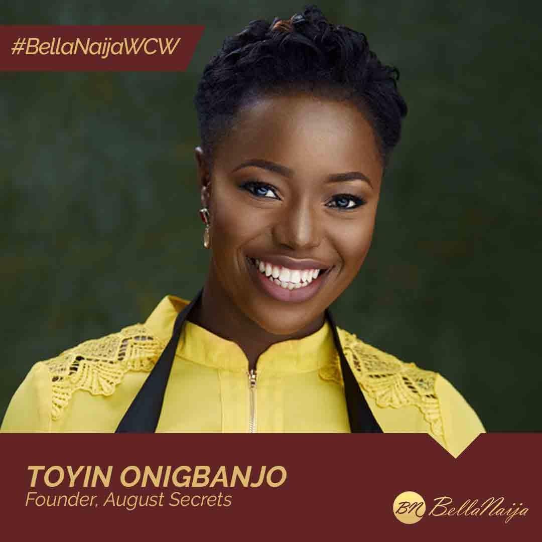 #BellaNaijaWCW: How Toyin Onigbanjo of August Secrets is Changing Baby Food Industry in Nigeria