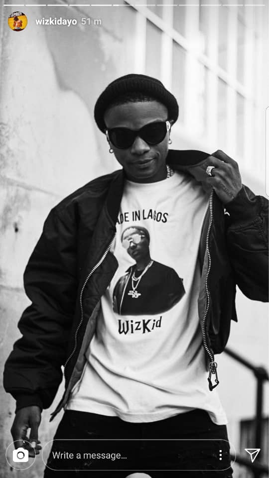 Wizkid to release new Merch Today! - Image ~ Naijabang