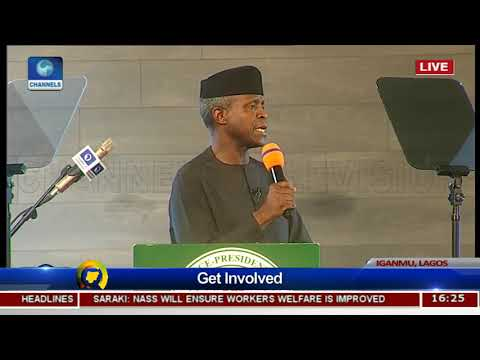 Real Nation Building is Done Outside Politics: WATCH VP Yemi Osinbajo speak at #ThePlatformNG