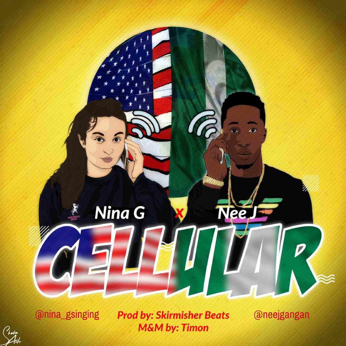 New Music: Nina G x Nee J - Cellular
