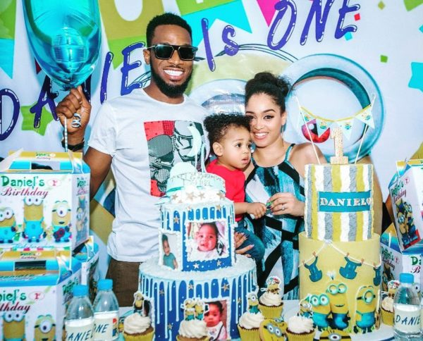 BN Living: D'Banj's Son Daniel Turns 1 Today!