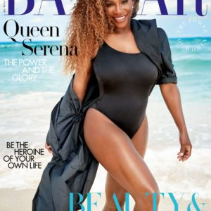 The Power & the Glory! Serena Williams is the Cover Star for Harper's Bazaar UK's July Issue
