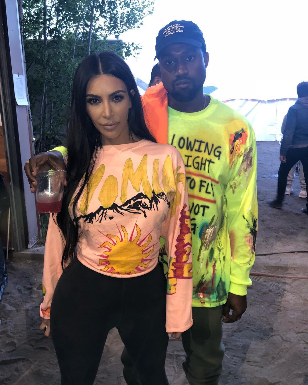 Kanye West & Kim Kardashian host Big Sean, Nas, Kid Cudi at exclusive Album Launch in Wyoming