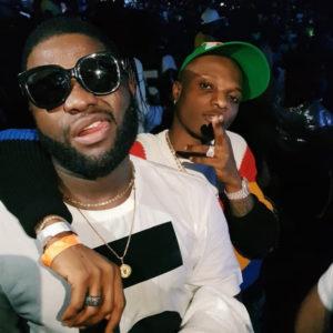 Baddest Boys Forever! Wizkid & Skals reunite at #OneAfricaMusicFest