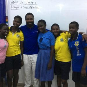 "Davido Oyelowo visits ""Scholarship Girls"" in Nigeria"
