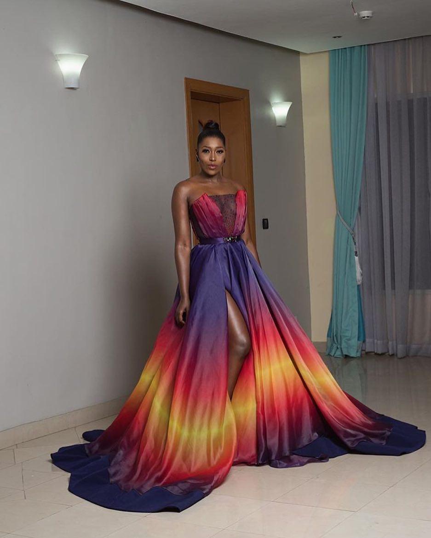 34173798_496558590775615_8664771725663141888_n Toke Makinwa, Osas Ighodaro Ajibade, Ini Dima-Okojie at the MET Gala themed #Oceans8 Premiere Events Fashion