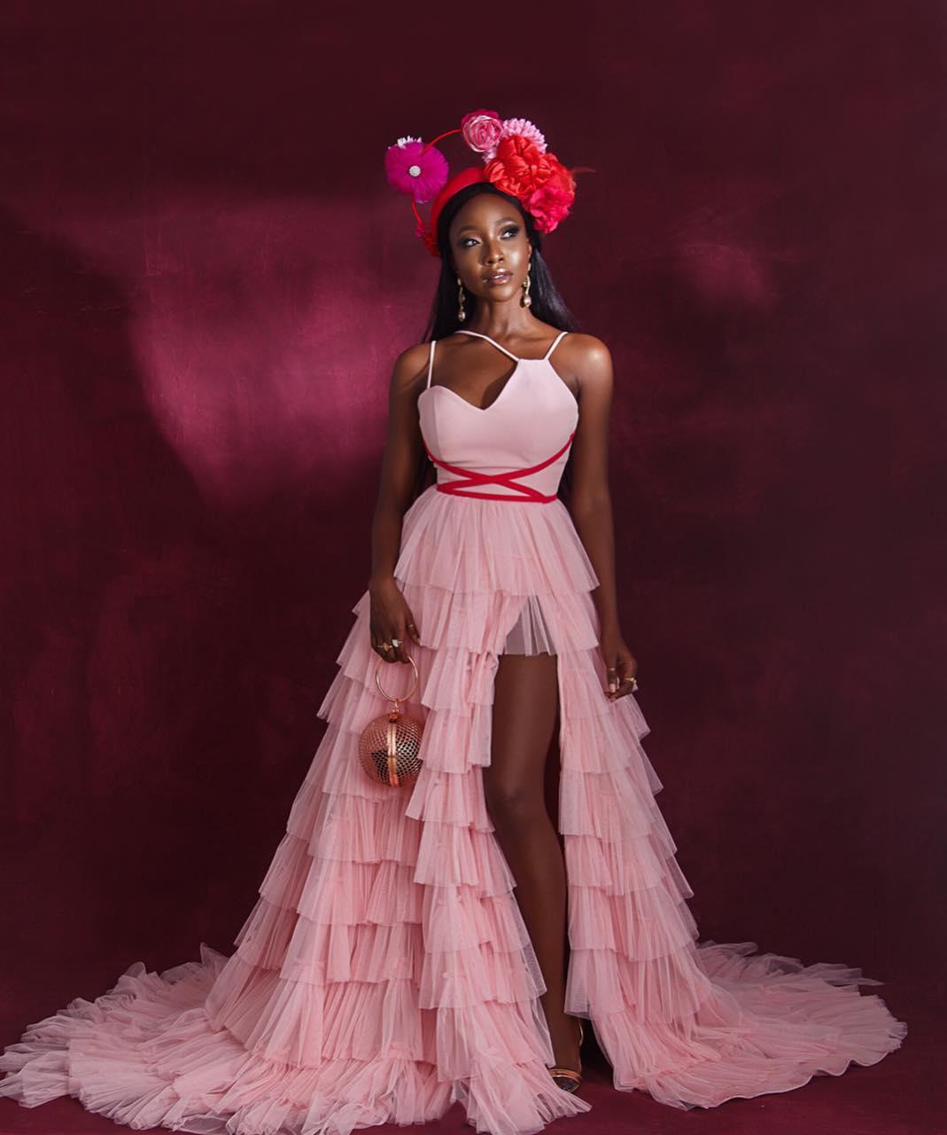 34429082_186244122214797_5060162234278215680_n Toke Makinwa, Osas Ighodaro Ajibade, Ini Dima-Okojie at the MET Gala themed #Oceans8 Premiere Events Fashion