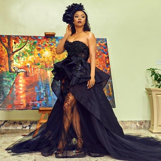 34605524_2150774404937648_7708214480856940544_n Toke Makinwa, Osas Ighodaro Ajibade, Ini Dima-Okojie at the MET Gala themed #Oceans8 Premiere Events Fashion