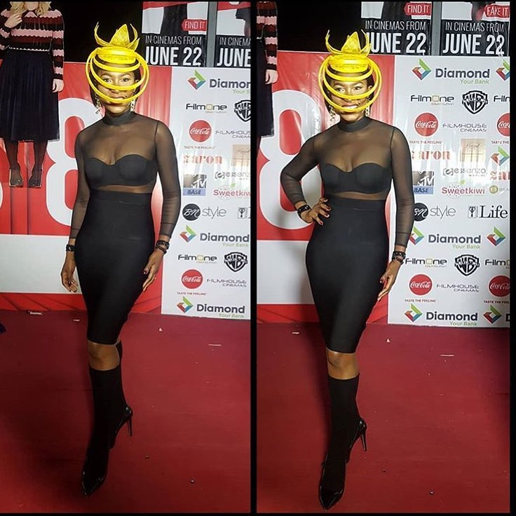 34983296_269274630310888_642624908181897216_n Toke Makinwa, Osas Ighodaro Ajibade, Ini Dima-Okojie at the MET Gala themed #Oceans8 Premiere Events Fashion
