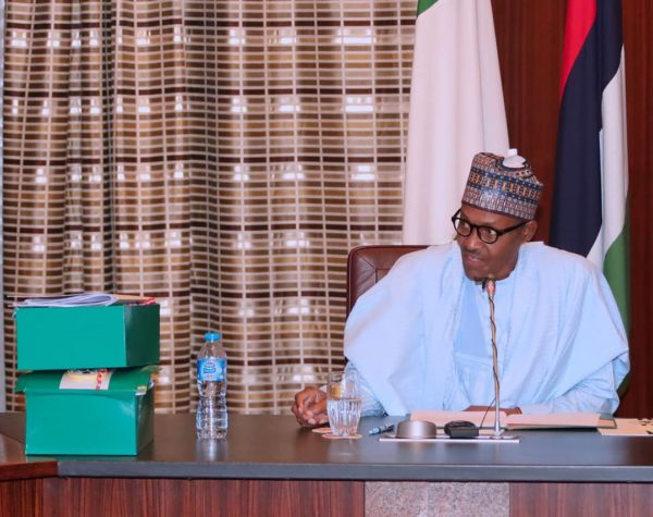 President Buhari laments Senate Cuts on 2018 Budget | BellaNaija