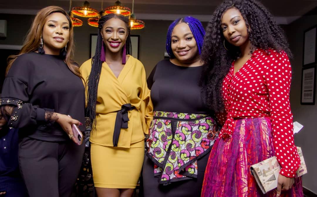 """Bolanle Olukanni, Lynxxx, Akah Nnani, Mimi Onalaja, Taje Prest spotted at the Launch of Adeolu Adefarsin's """"Shop Talk'"""