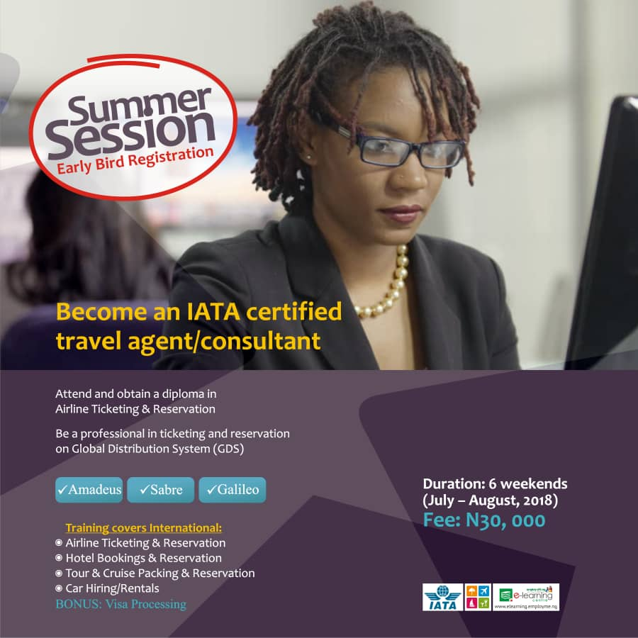 Become A Certified Travel Agent With EmployMe Nigeria This