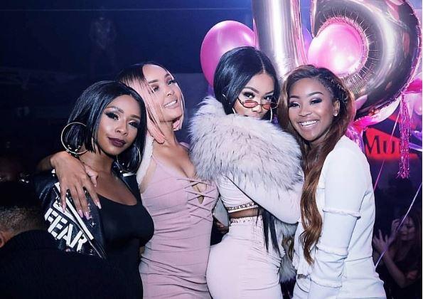 Bonang Matheba Celebrates Birthday With Champagne Gala Party