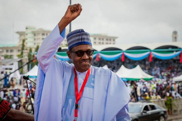 President Buhari addresses Party Members at APC Convention | BellaNaija
