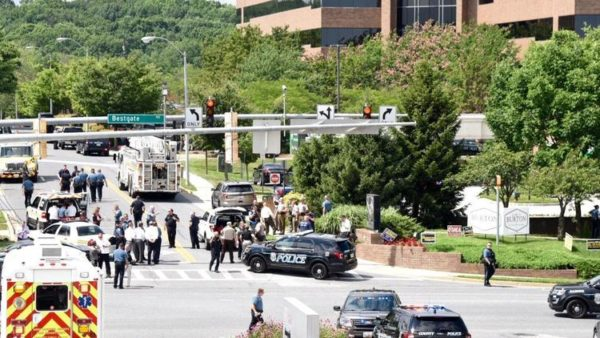 Multiple Casualties reported after Shooter opens fire in Newspaper Building in Annapolis | BellaNaija