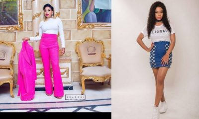 Toyin Lawani buys Car for Nina on Birthday