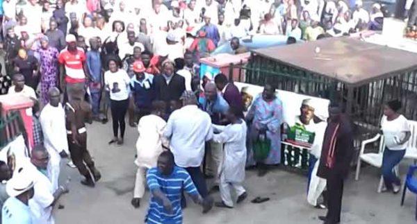 Fayemi was the target at APC Rally shooting - Party Chairman   BellaNaija