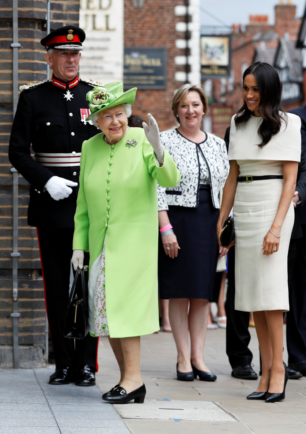 First Outing! Meghan, Duchess of Sussex & Queen Elizabeth II team up for Royal Visit to Cheshire