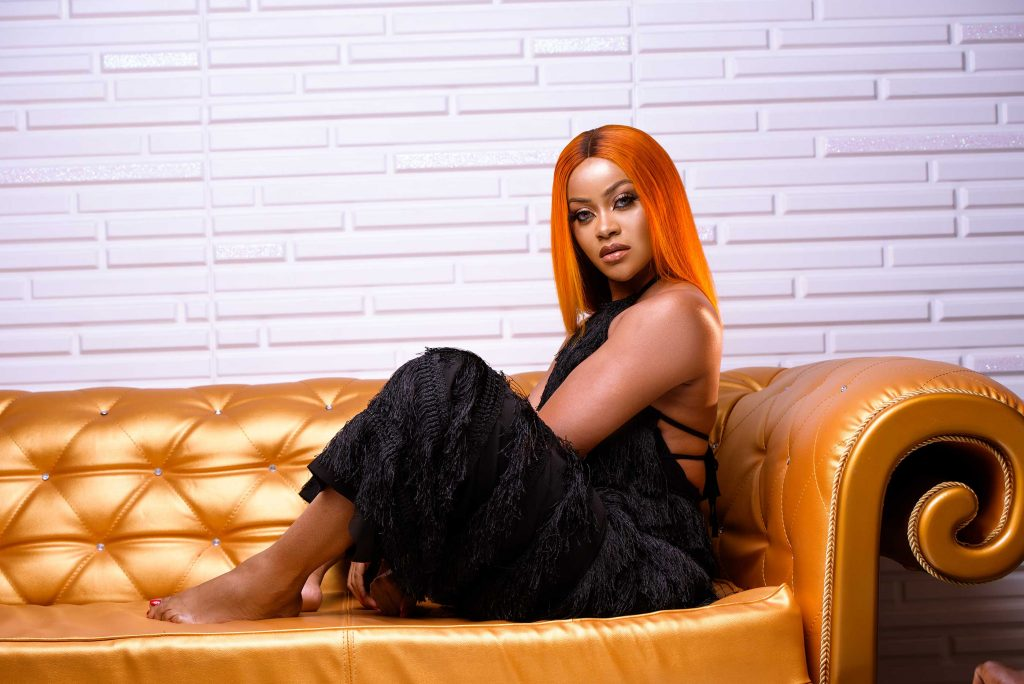 Actress Dami Adegbite launches new website with new photos