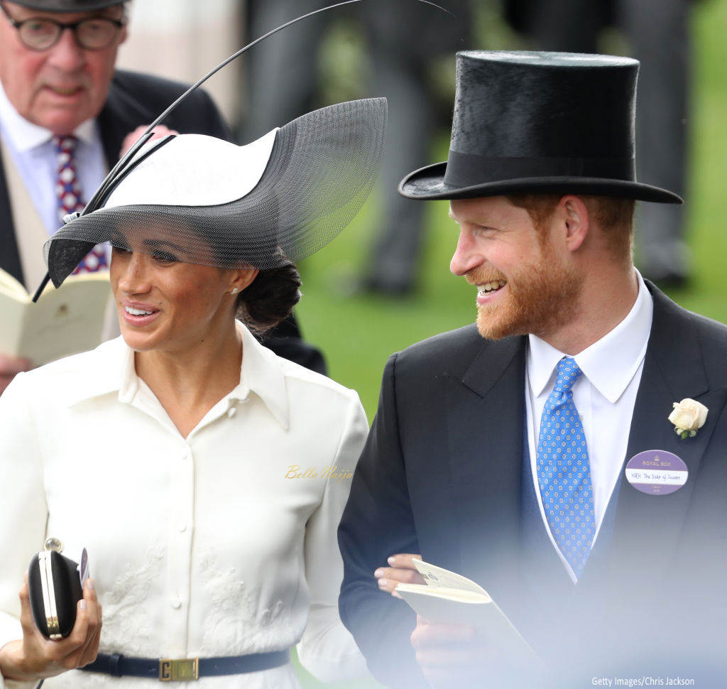 Meghan Markle Made Her Royal Ascot Debut In A Dainty