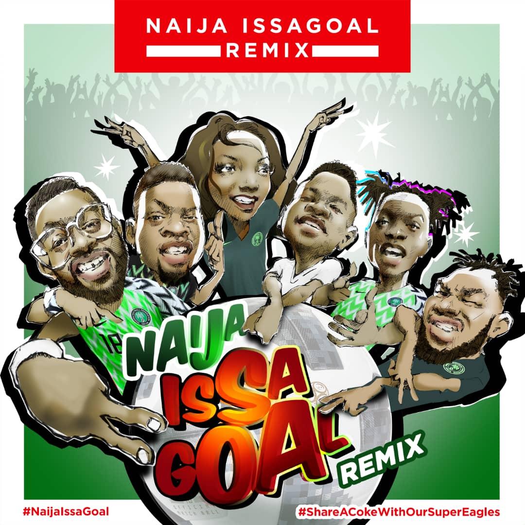 Naira Marley Falz Olamide Simi Lil Kesh Slimcase Team Up For Naija Issa Goal Remix Watch