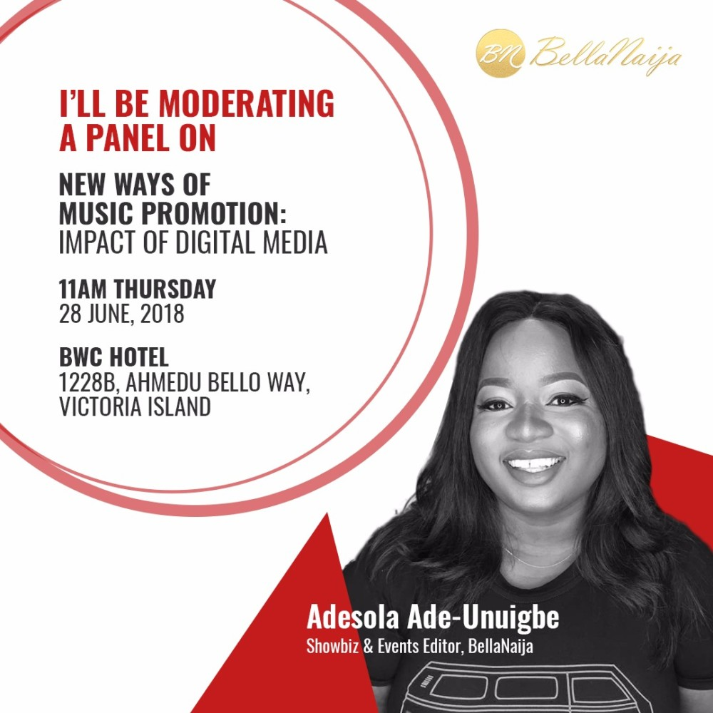 BellaNaija's Adesola is moderating a Panel on