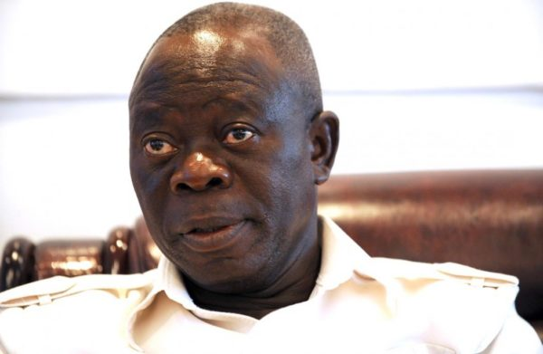 "Atiku ""can only travel to Dubai"" - Oshiomhole says 