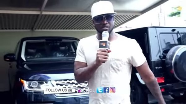 """She was there for me when I had nothing"" - Peter Okoye on his Car Gift to Wife Lola 