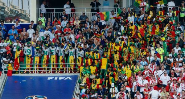 #WorldCup: Senegal Fans Cleaned Up Their Part of the Stadium after their Win against Poland