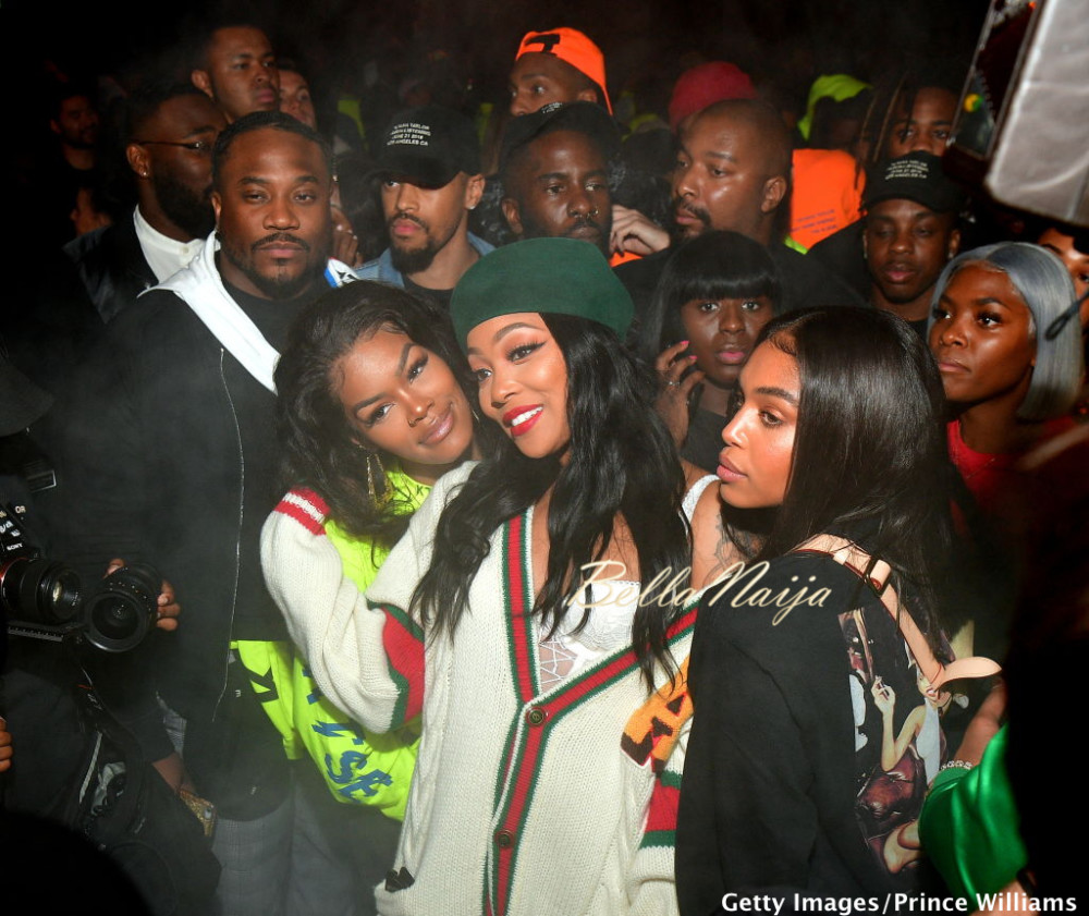 Teyana Taylor hosts Star-Studded Album Release Party with ... Meek Mill And Teyana Taylor