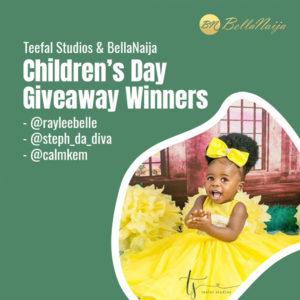 The BellaNaija Living & Teefal Studios Children's Day Giveaway WINNERS!
